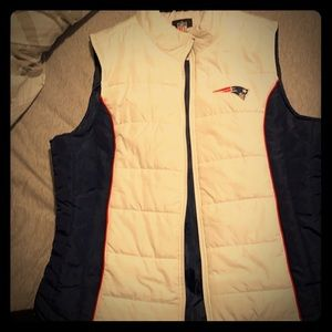 New England Patriots vest